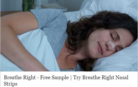 Free Breathe Right Strips