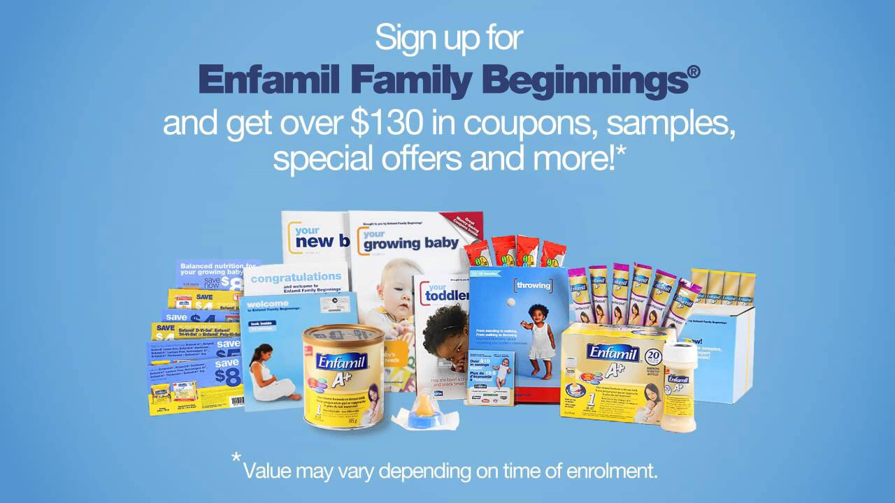 Sign up for free baby formula