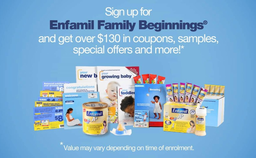 Free baby formula, coupons, Belly Badges, & samples from Enfamil