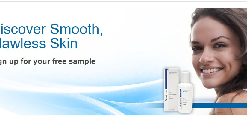 NeoStrata Ultra Smoothing Lotion has freesamples!