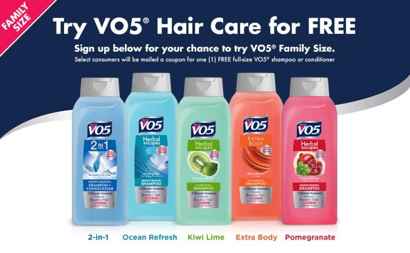 Free Full Size VO5Shampoo