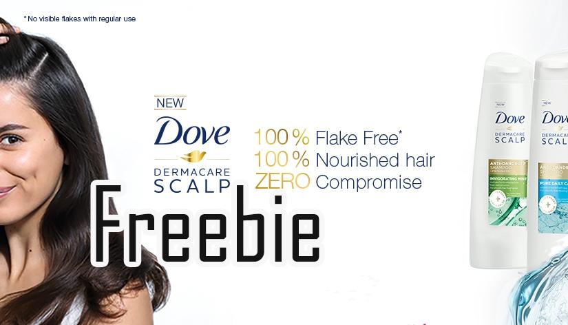 Free Dove Shampoo &Conditioner