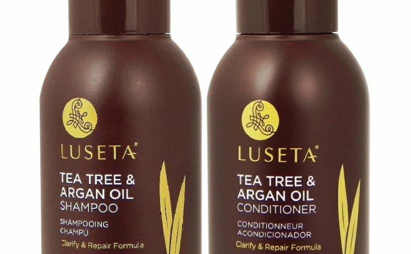 Free Luseta Tea Tree & Argan Oil Shampoo & Conditioner