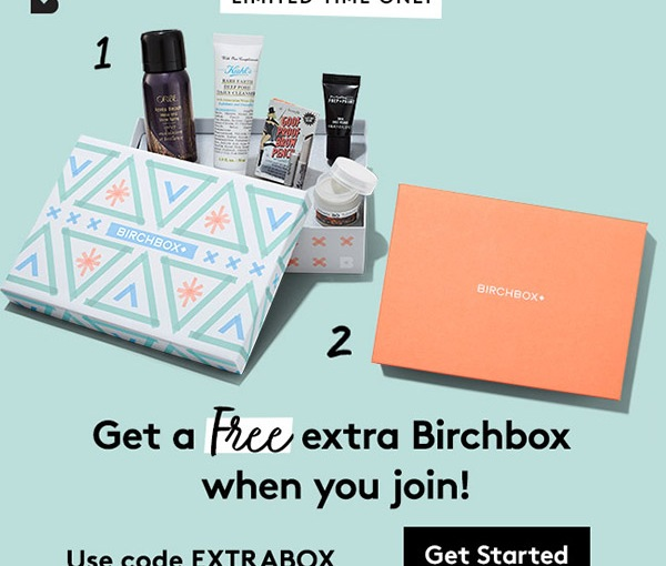 How to get a FREE BirchBox