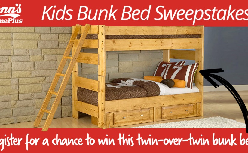 *GIVEAWAY* Kids Bunk Bed Sweepstakes