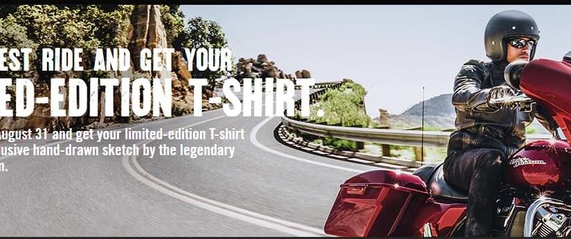 Free Harley Davidson Limited EditionT-Shirt