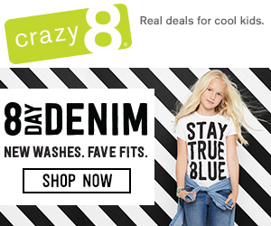 HURRY! Crazy8 launched their new Denim collection – $8.99 apair