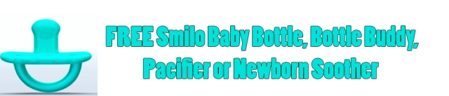 FREE Smilo Baby Bottle, Bottle Buddy, Pacifier or Newborn Soother.jpg