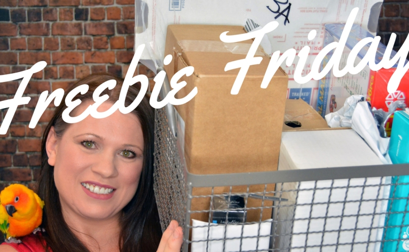 Freebie Friday Haul for July 28 | My freebie basket was so full it didn't all fit!