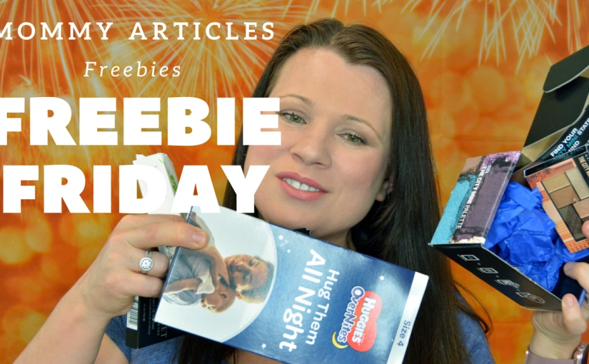 It's Freebie Friday again & I have the video to prove it! How to become a product tester!
