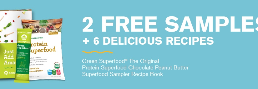 2 Free Protein Superfood Samples!