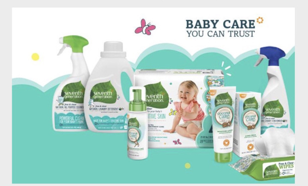 Apply for a free baby Bundle from 7th Generation