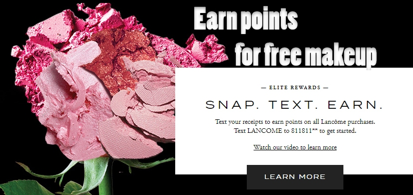 Join Lancome Elite Rewards to earn FREE Lancome makeup! How did I not know about this sooner?!