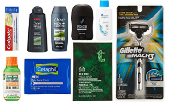 2 Free Men's Grooming Boxes | Free after Amazoncredit