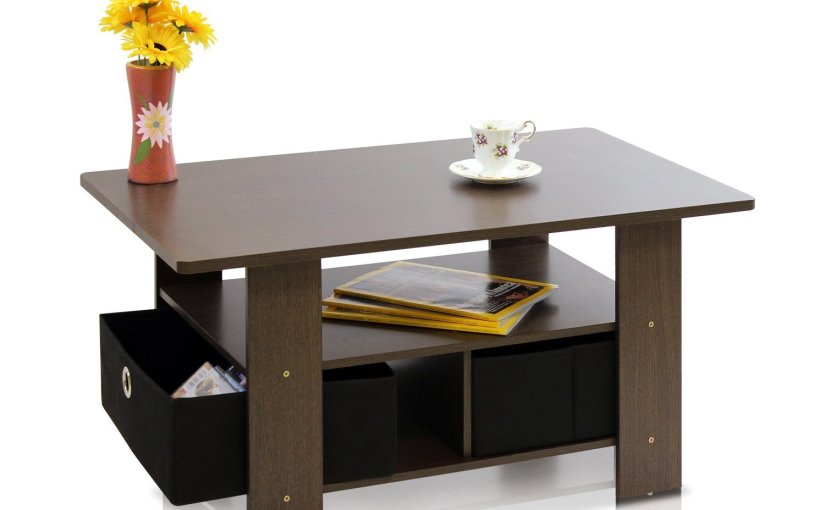 HURRY! Run to snag this super cute coffee table for only $14.58 w/ free shipping