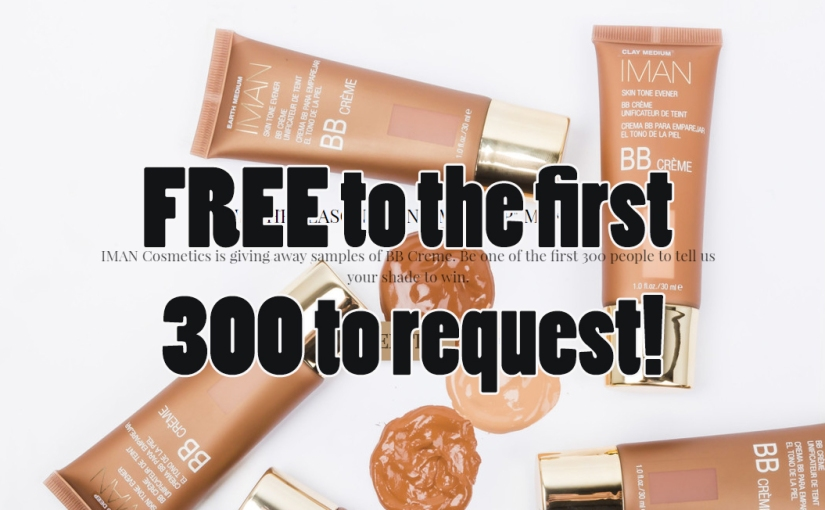 Free IMAN BB Cream Makeup