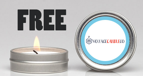 *Freebie Alert* Premium Scented CandleSamples