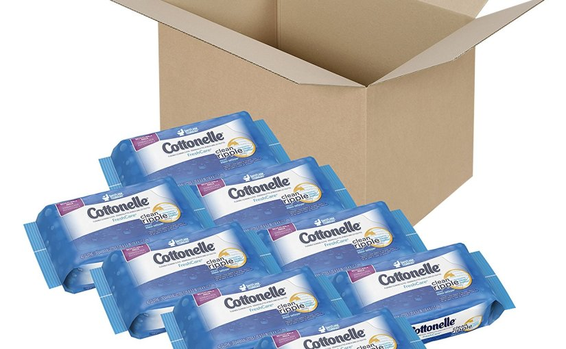 336 Cottonelle Flushable Cleansing Cloths only $9.25 after digital coupon