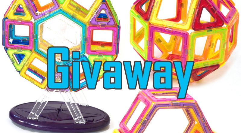 Enter To Win A Set Of Magnetic Tile Toys | Giveaway Alert