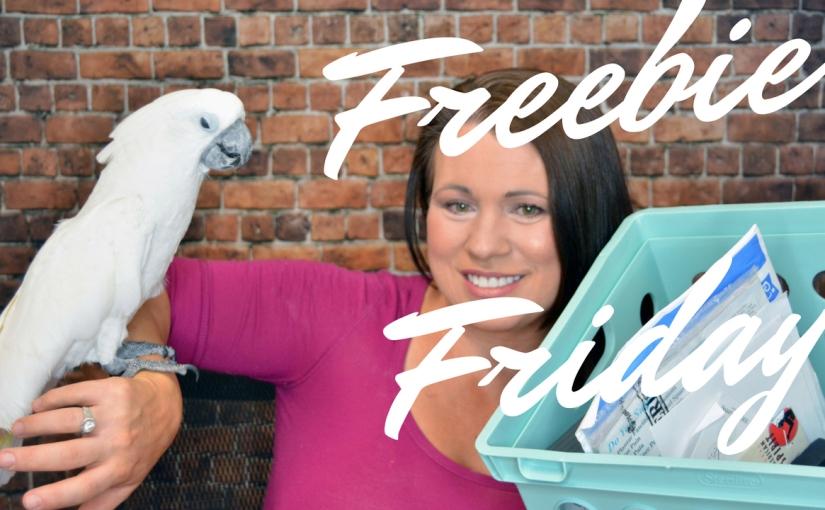 This weeks Freebie Friday Haul Video w/Links