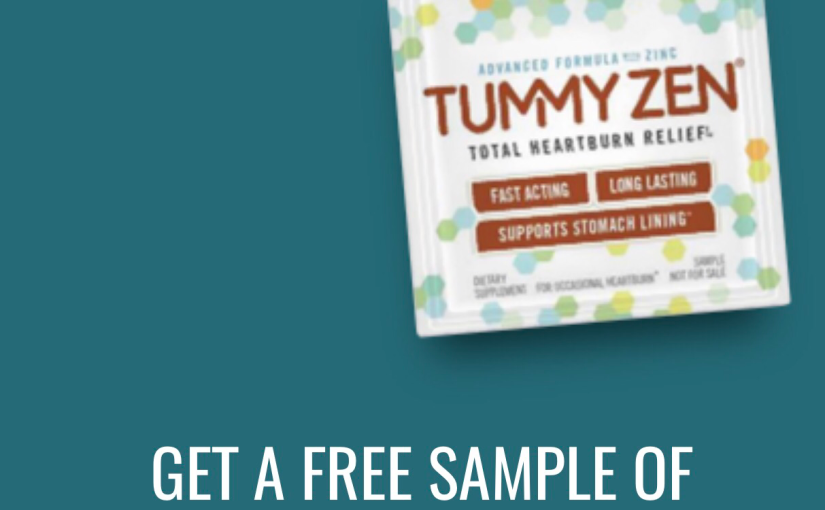 Free sample of Tummy Zen Heatburn Relief