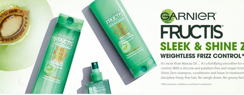 Free Garnier Fructis Hair Care Sample