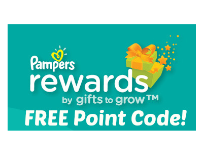 Free Pampers Reward Points